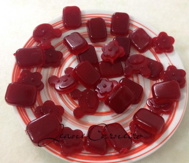 Balinha de gelatina