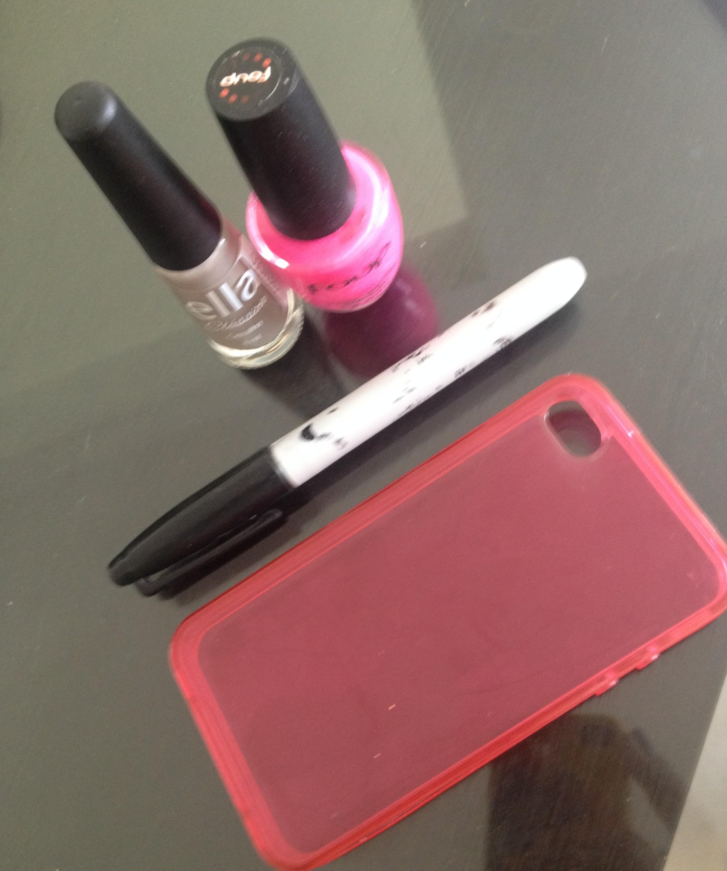 DIY – Customizando capinha de celular
