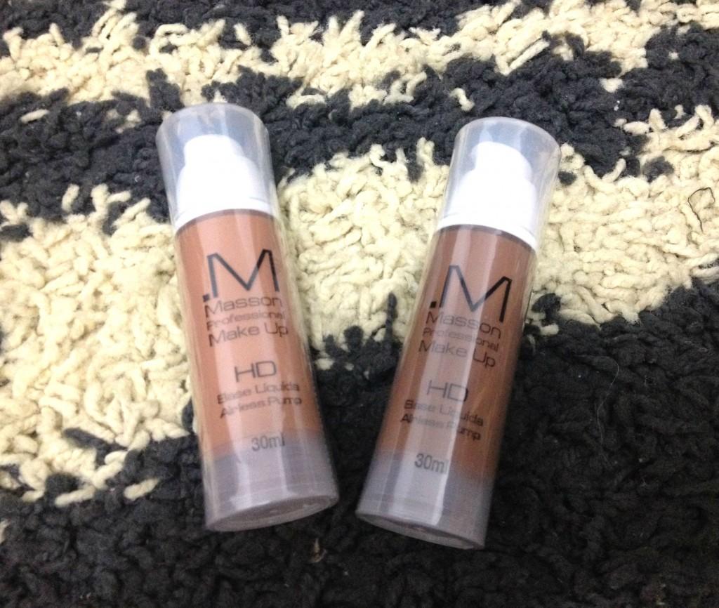Base liquida HD Masson Makeup