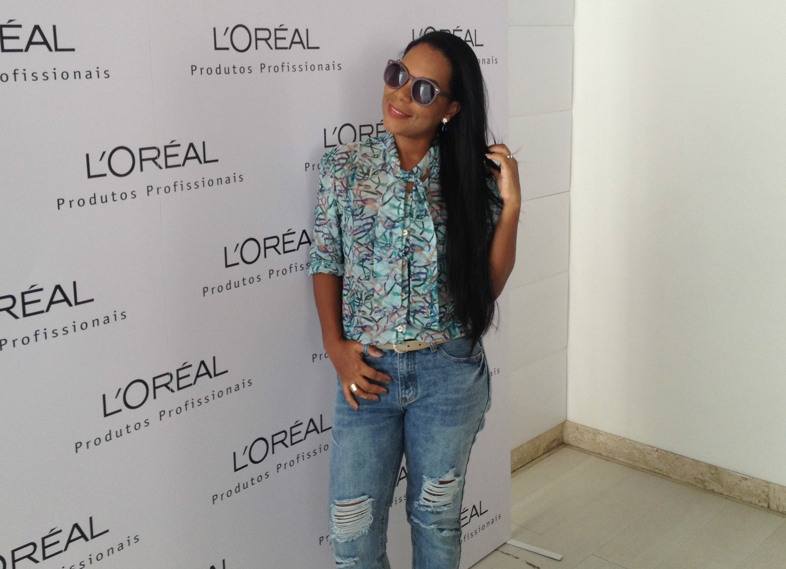 Destroyed jeans | Evento L'oreal