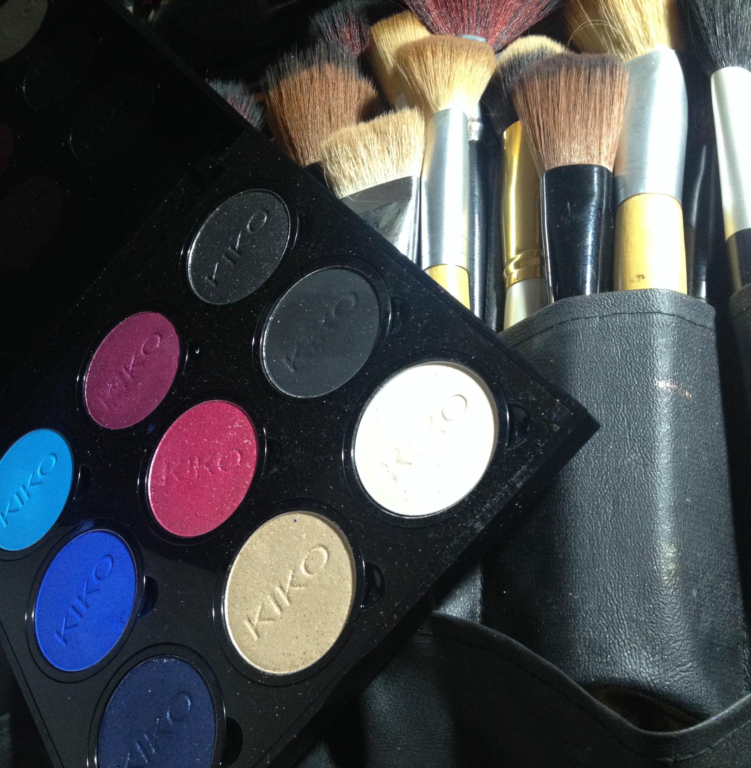 Maquiagem com paleta KIKO Milano