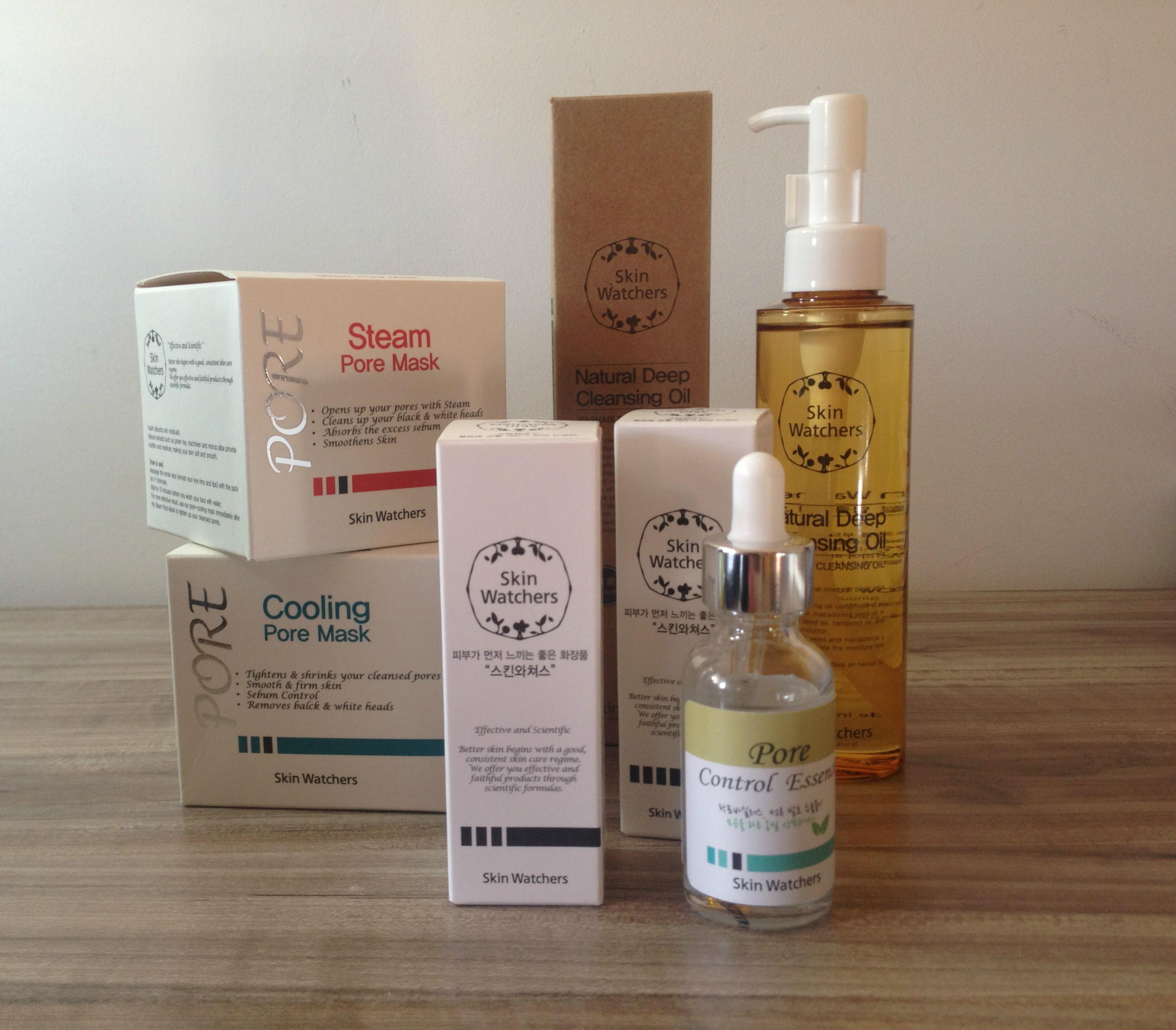 Skin Watchers   Steam e Cooling pore mask