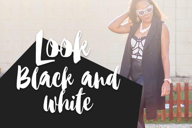 Look Black and White | Bag Dresslily