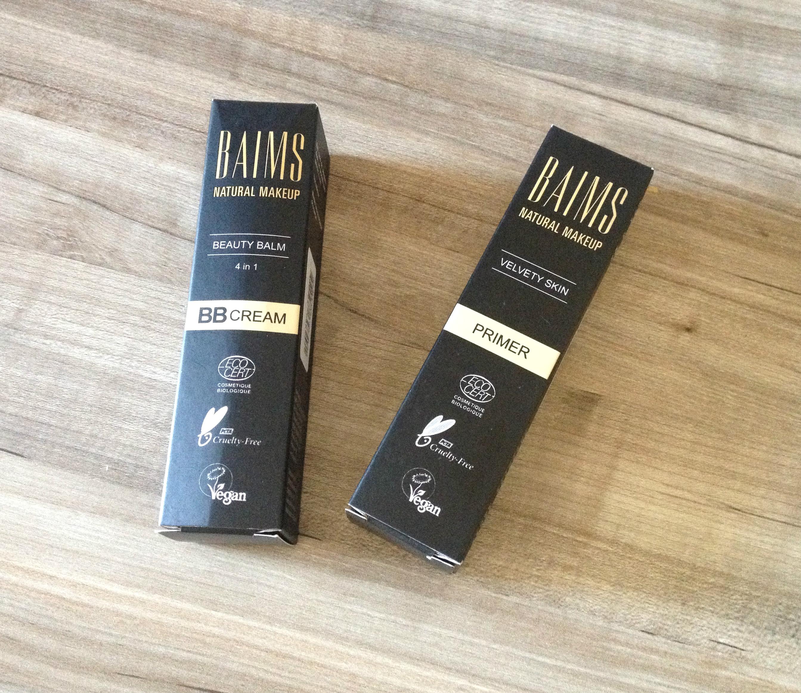 Baims Natural Makeup | Primer e BB Cream