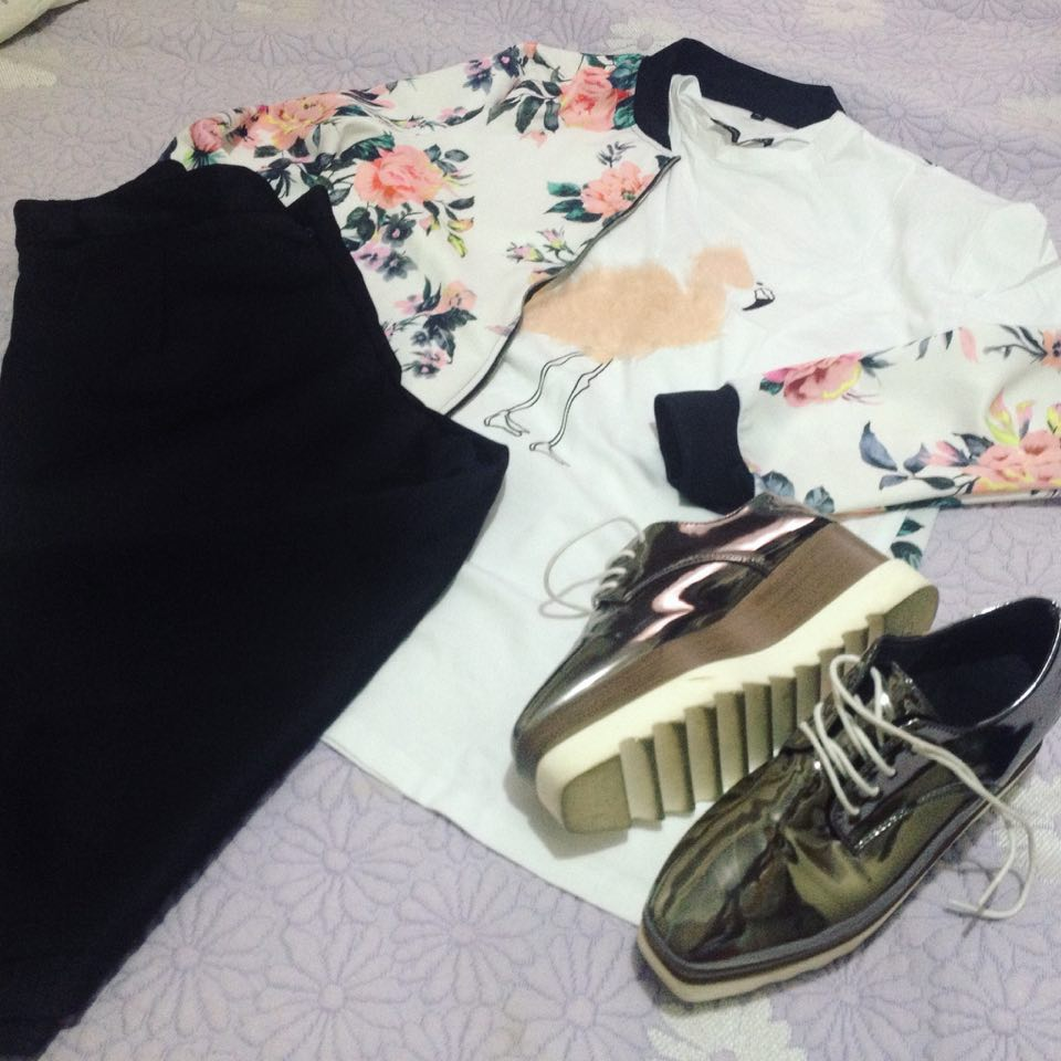 T-shirt Flamingo Zaful