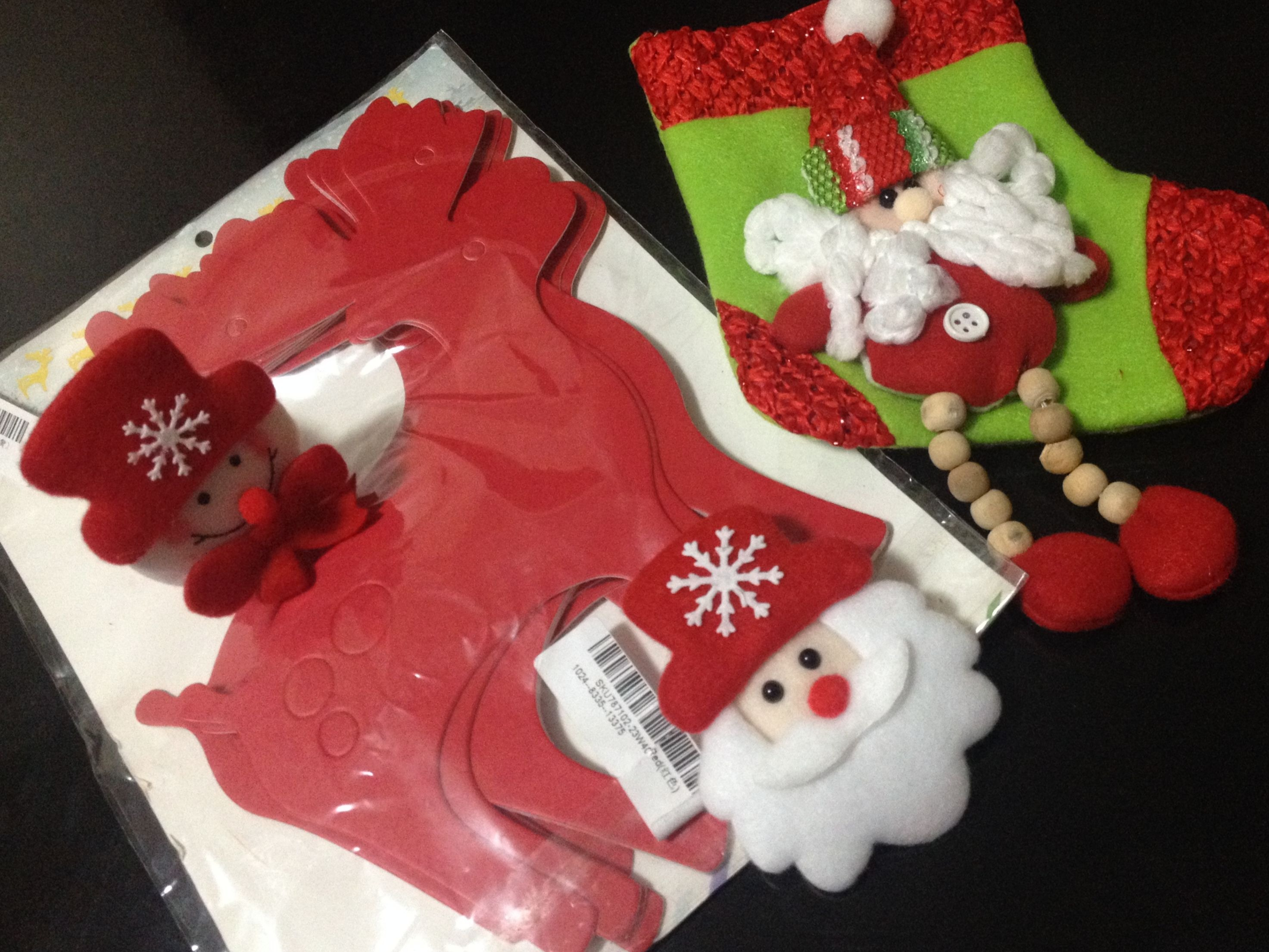 Veio da Banggood | Efeites de Natal