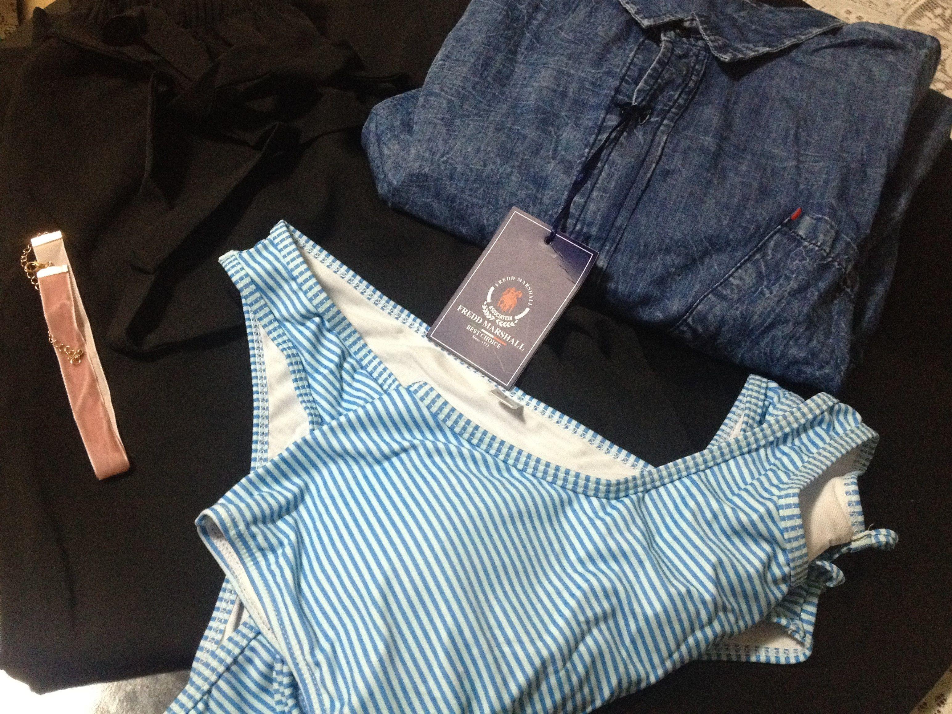 Chegou roupa nova da loja Zaful