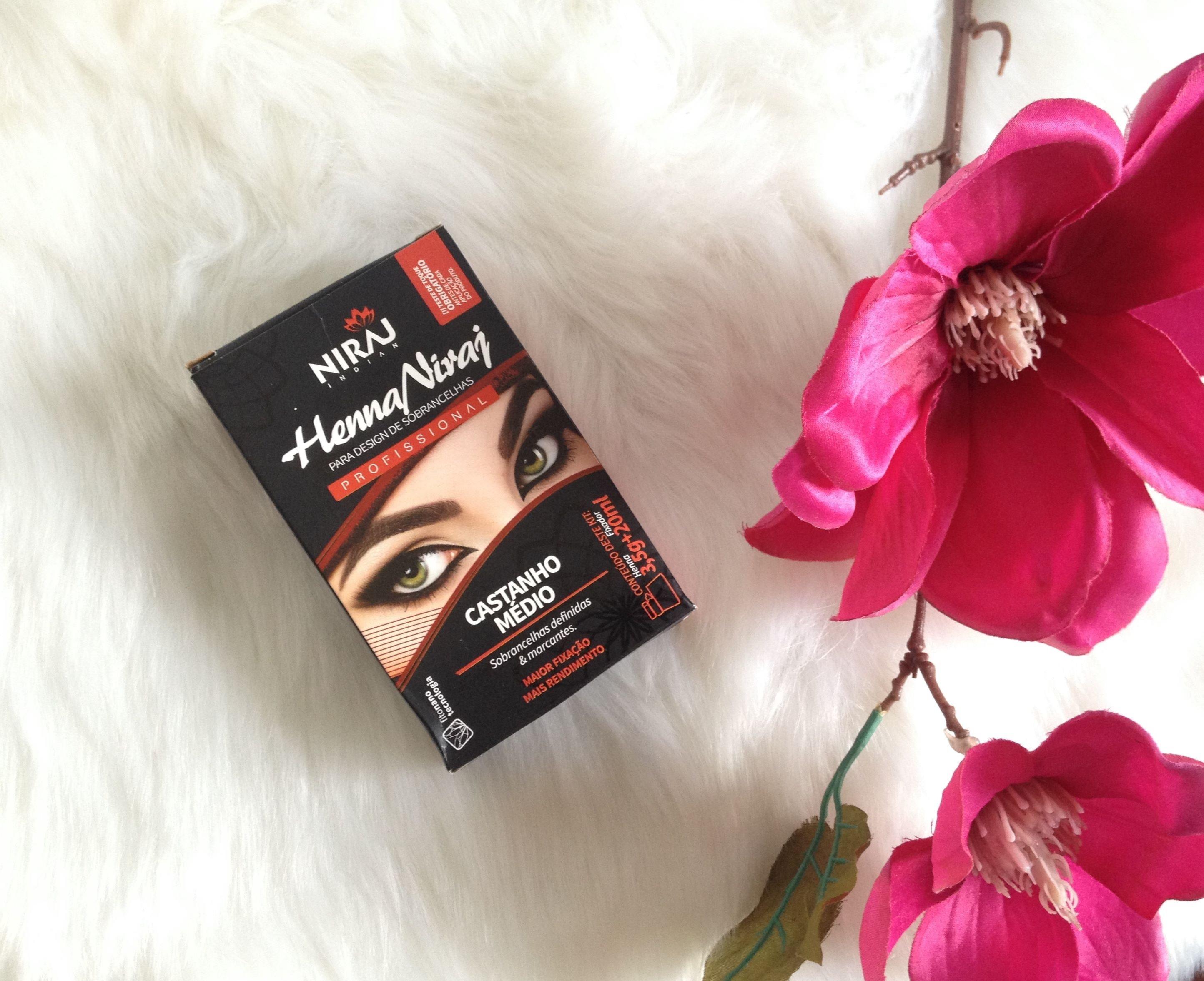 Niraj | Henna para sobrancelhas