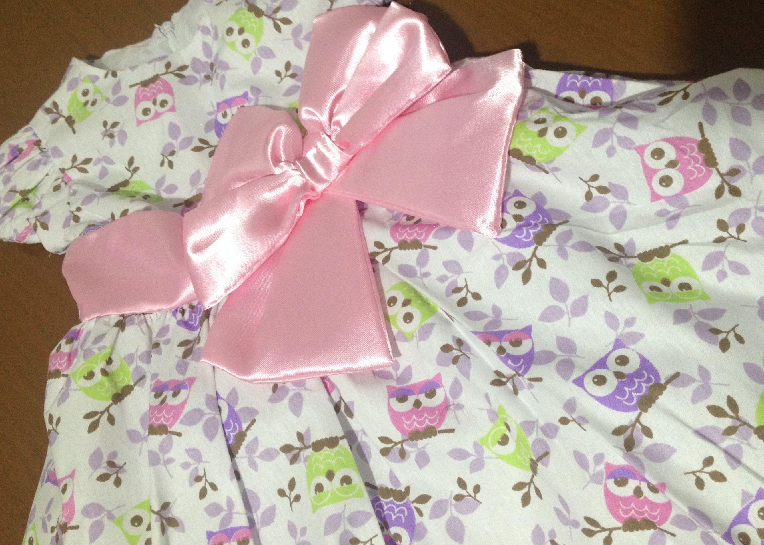 Vestido infantil Ana Giovana