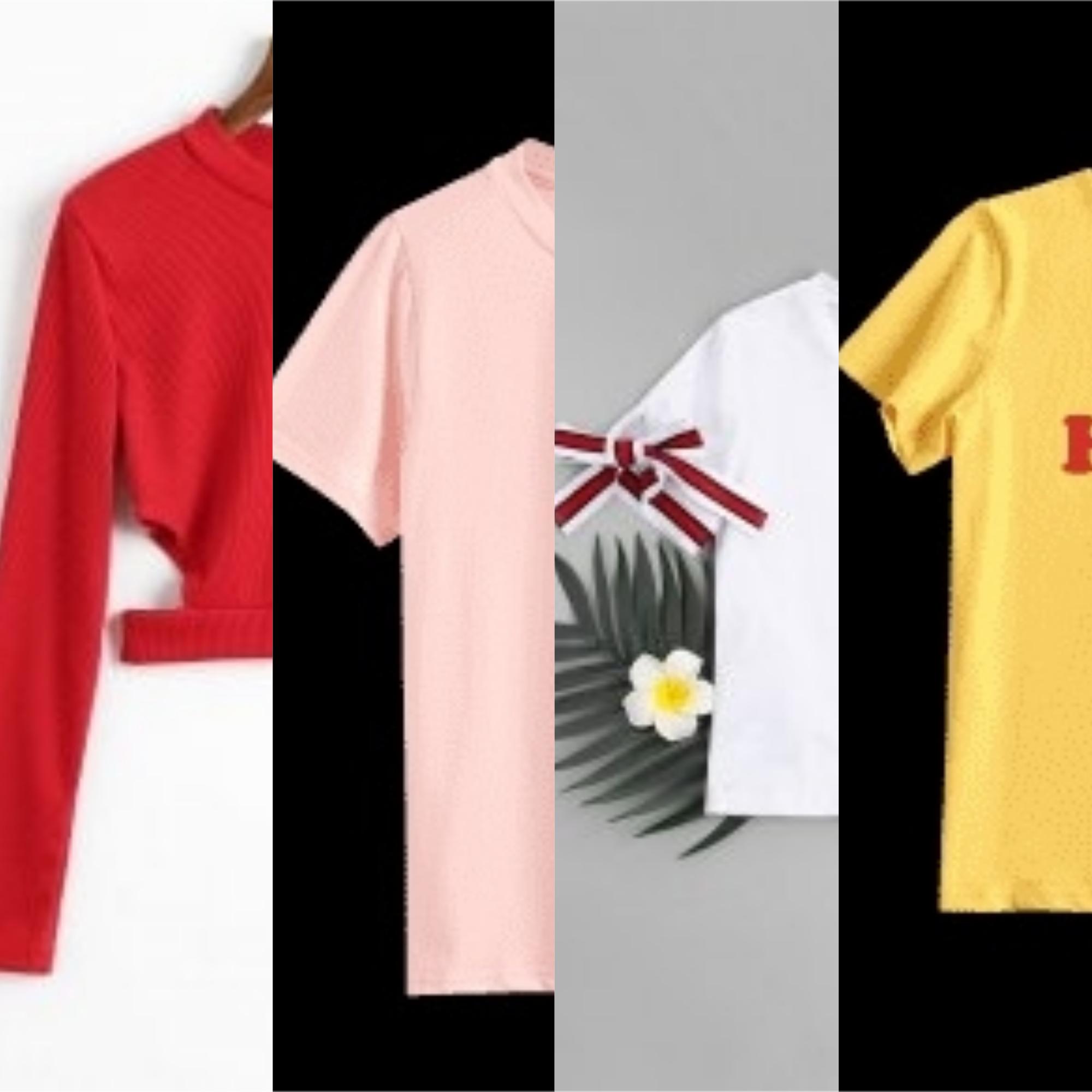 Camisetas favoritas na Zaful