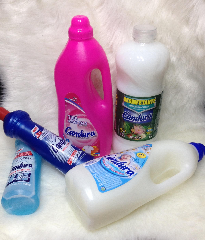 Candura produtos de limpeza
