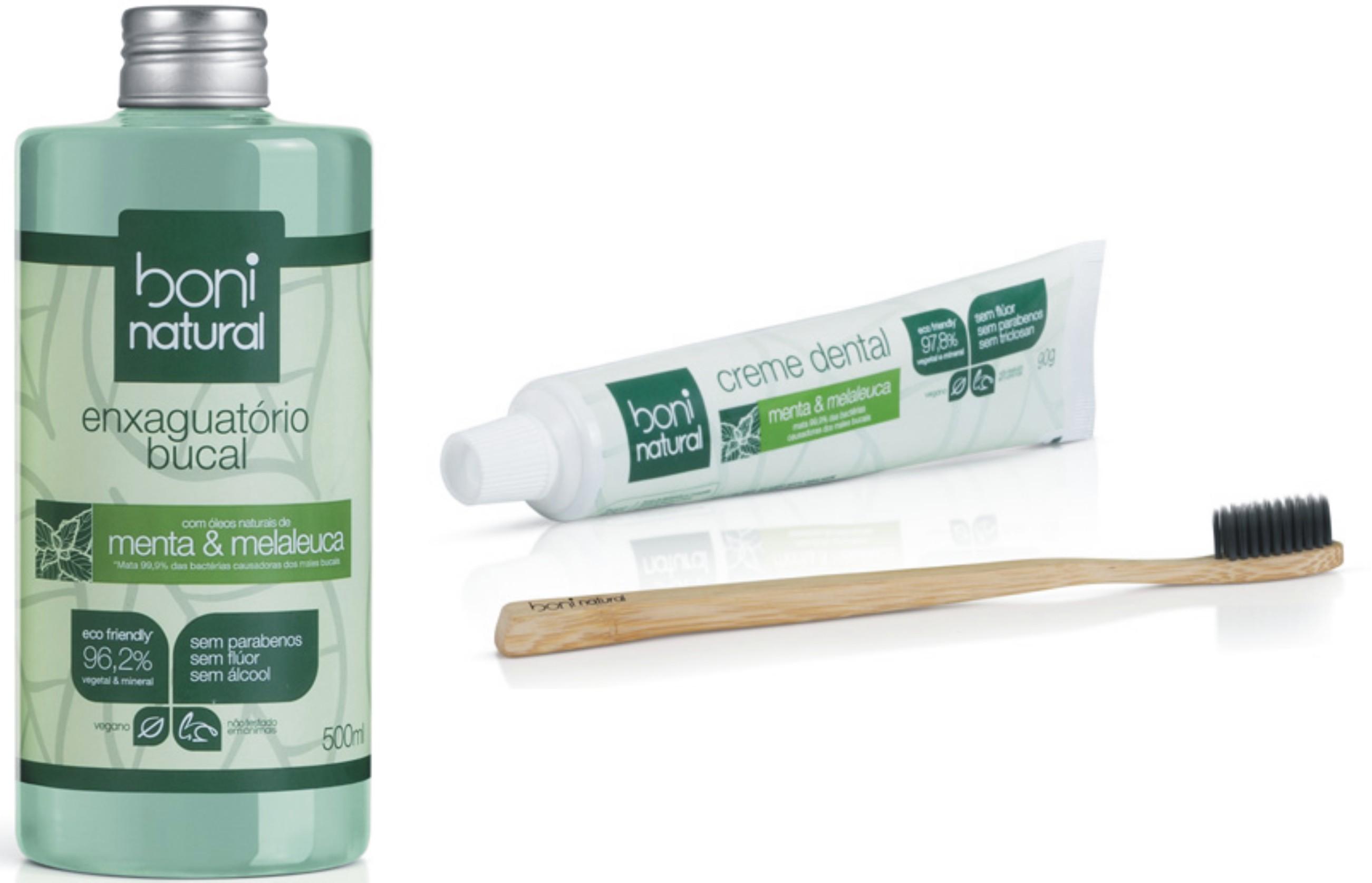 Boni Natural | Higiene bucal com produtos veganos e eco-friendly