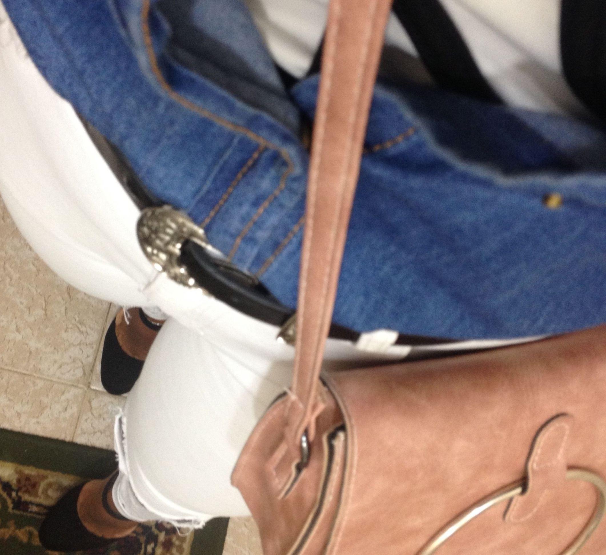 Look do dia | Calça branca e jeans
