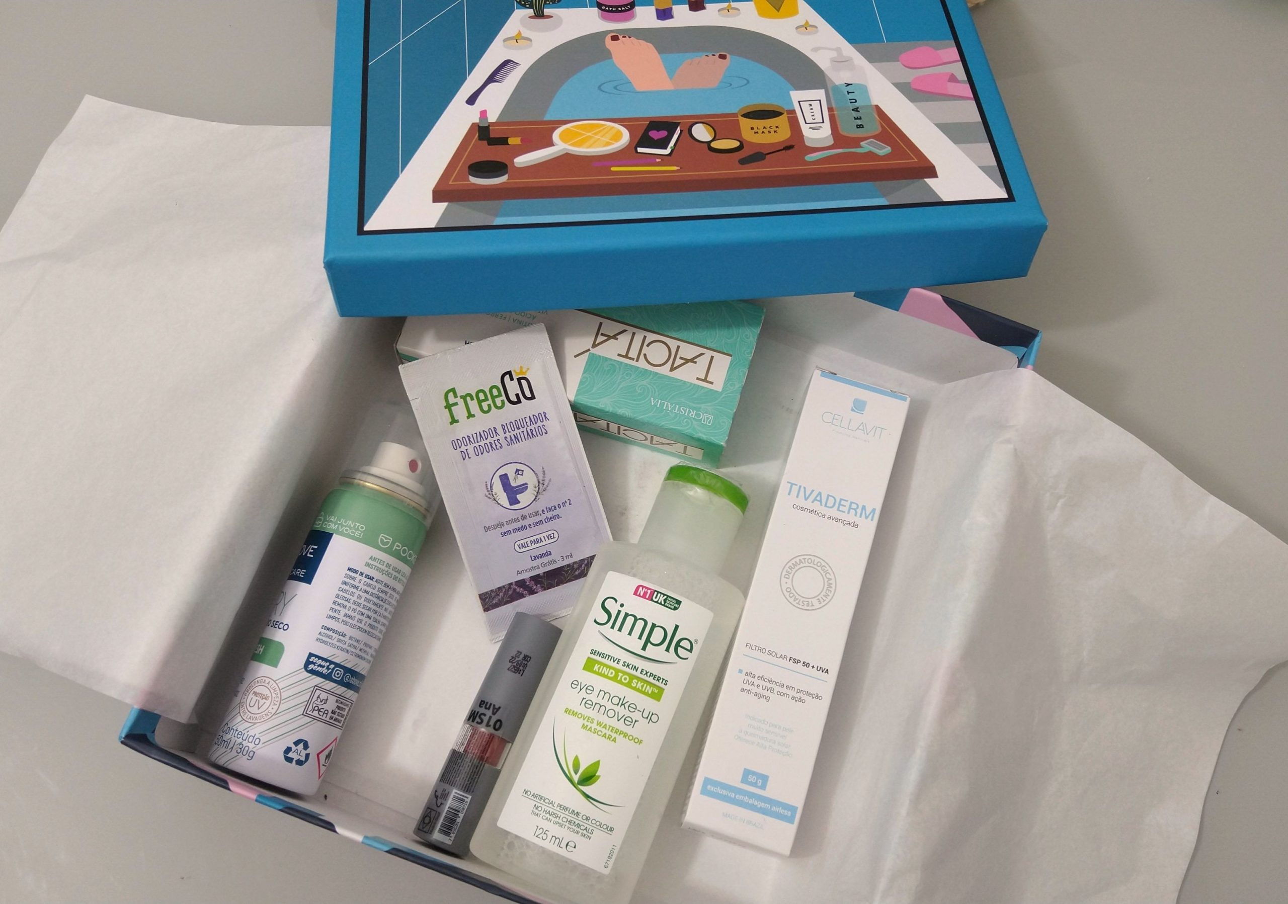 Glambox Beauty Shower