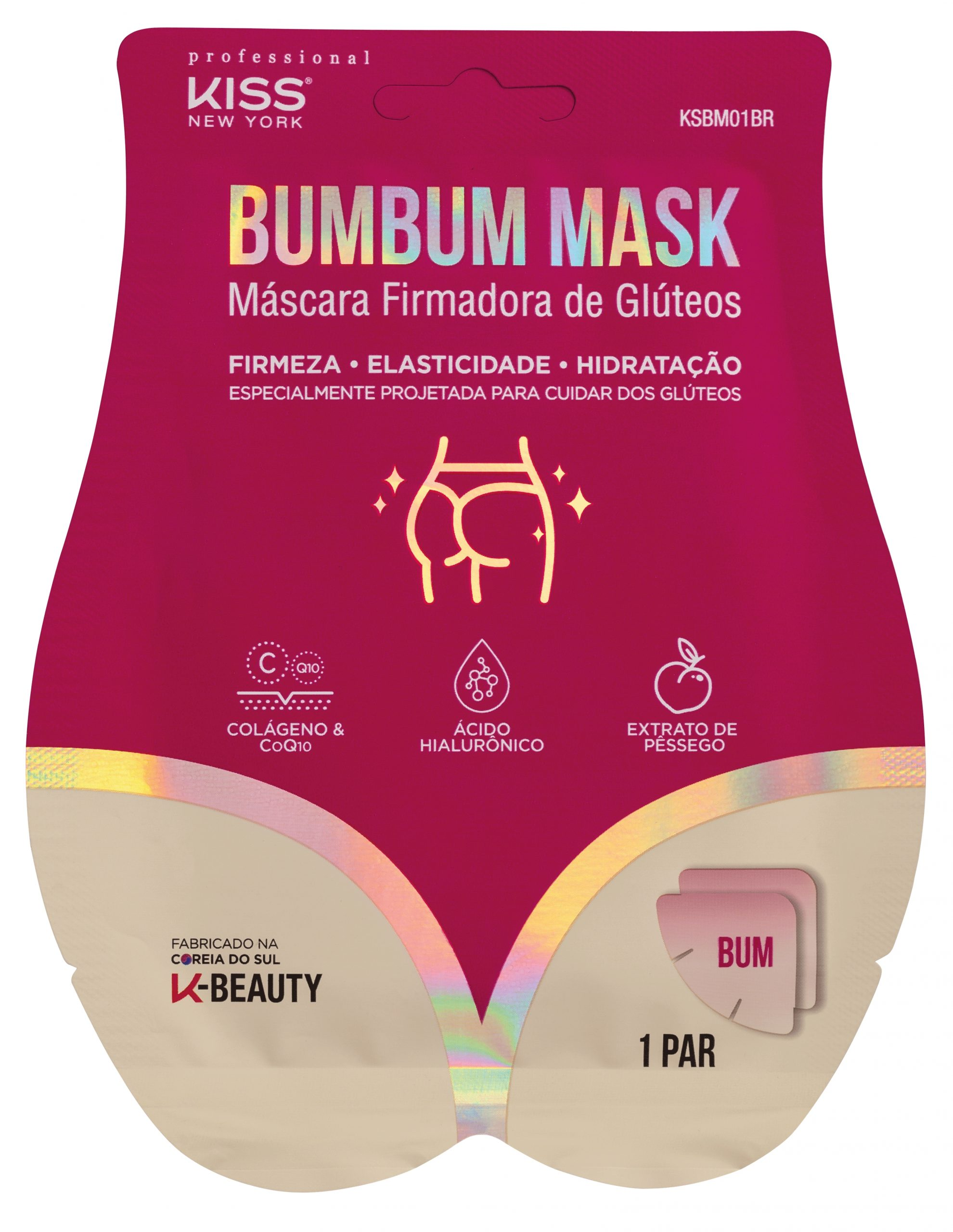 KISS New York  | Sheet Mask firmadora