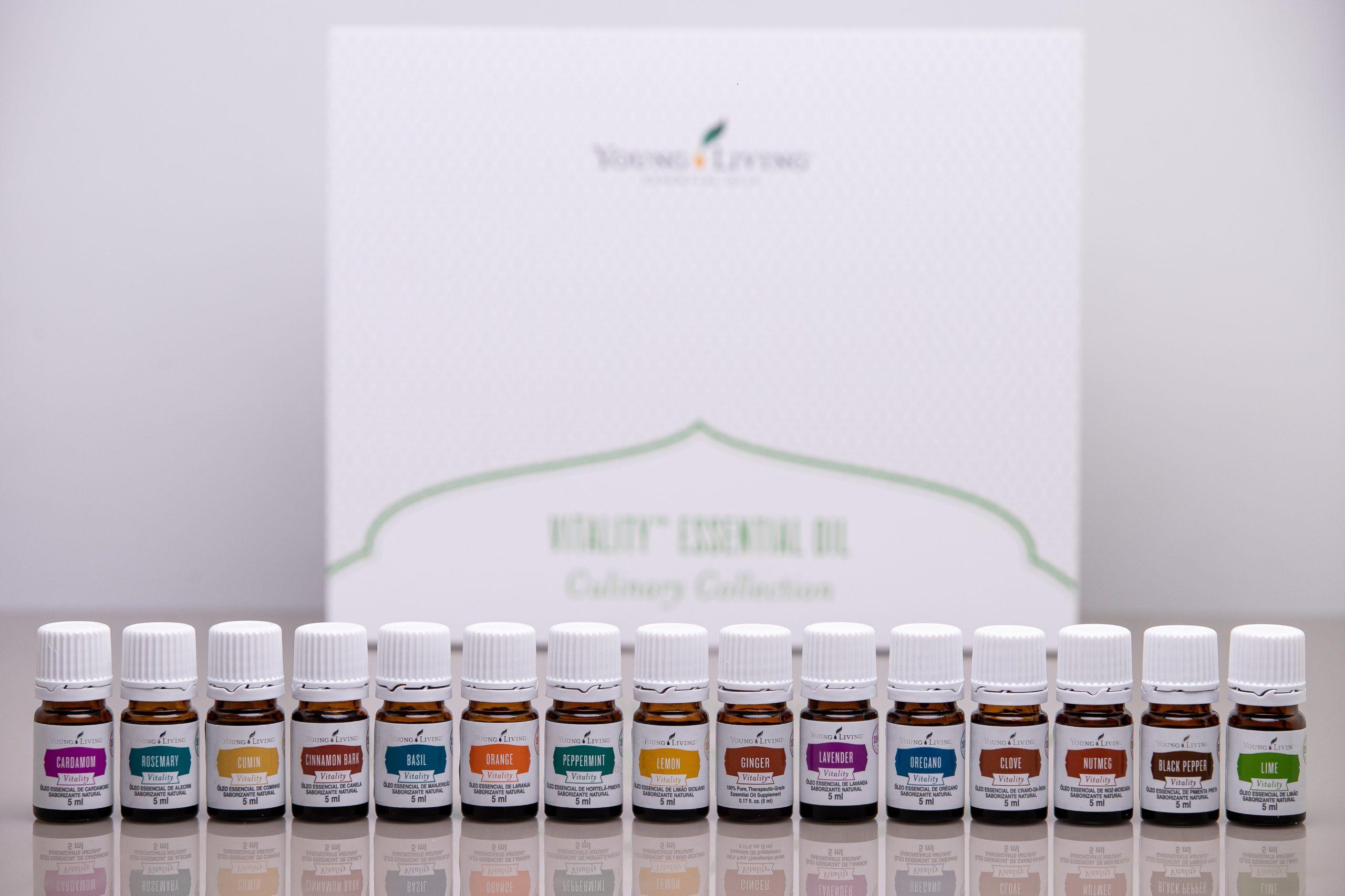 Young Living lança óleos essenciais exclusivos para ingestão