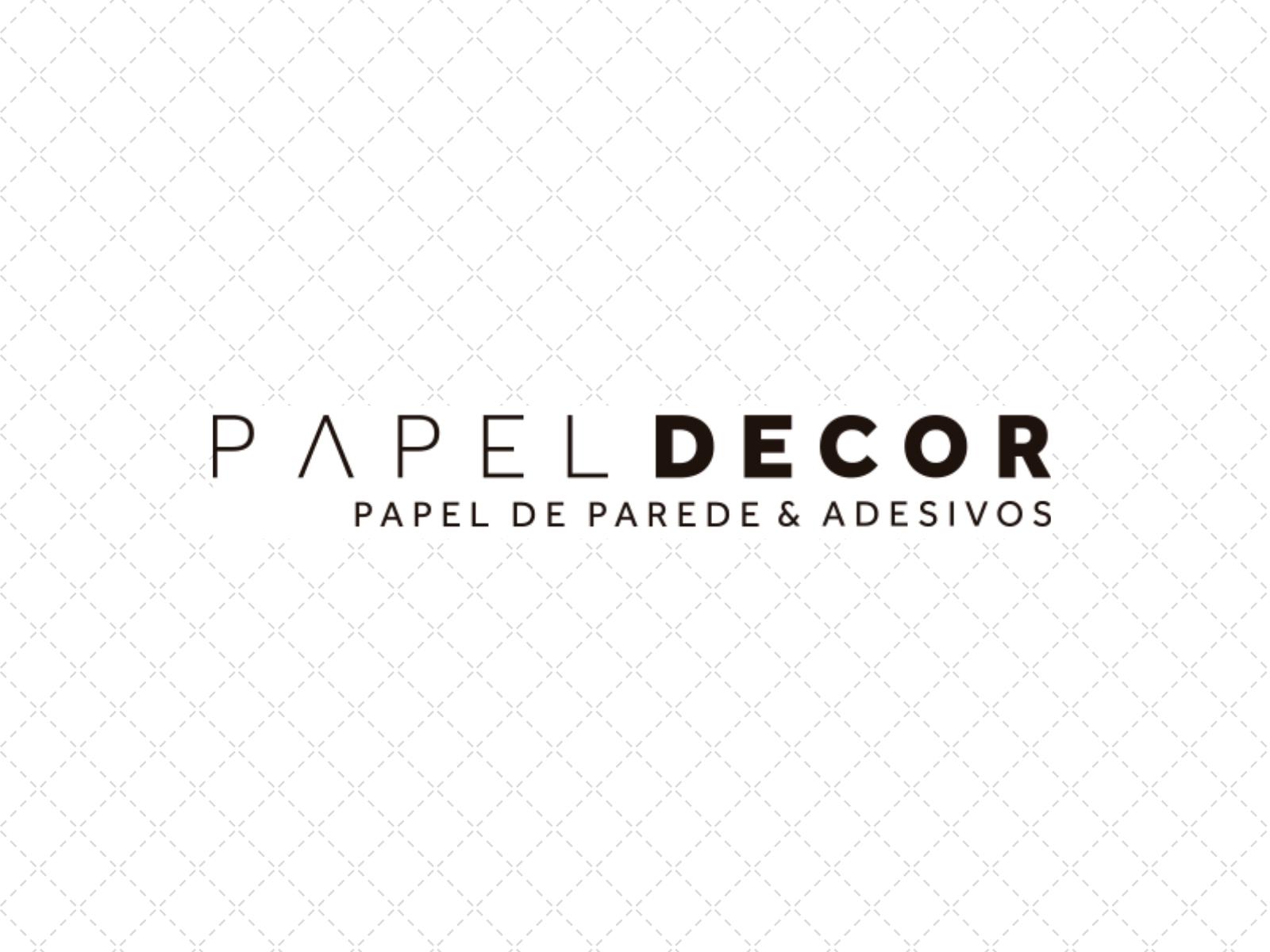 Papel decor – Papel de parede