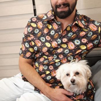 Dia dos Pais e tema de looks criados por estilista para Pets